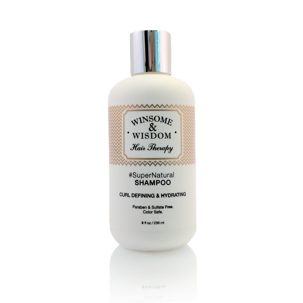 SuperNatural 8 oz Moisturizing Shampoo For Curly Hair