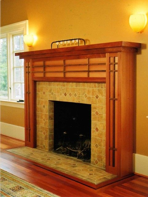 Beau Craftsman Fireplace Mantel Ideas | HomesFeed