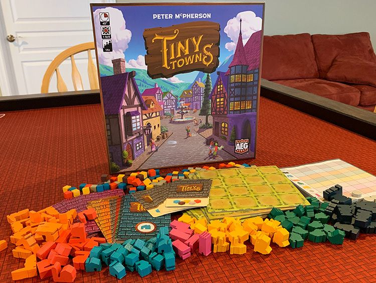 Tiny Towns Board Game Review The Board Game Family Board Games Games Family Games