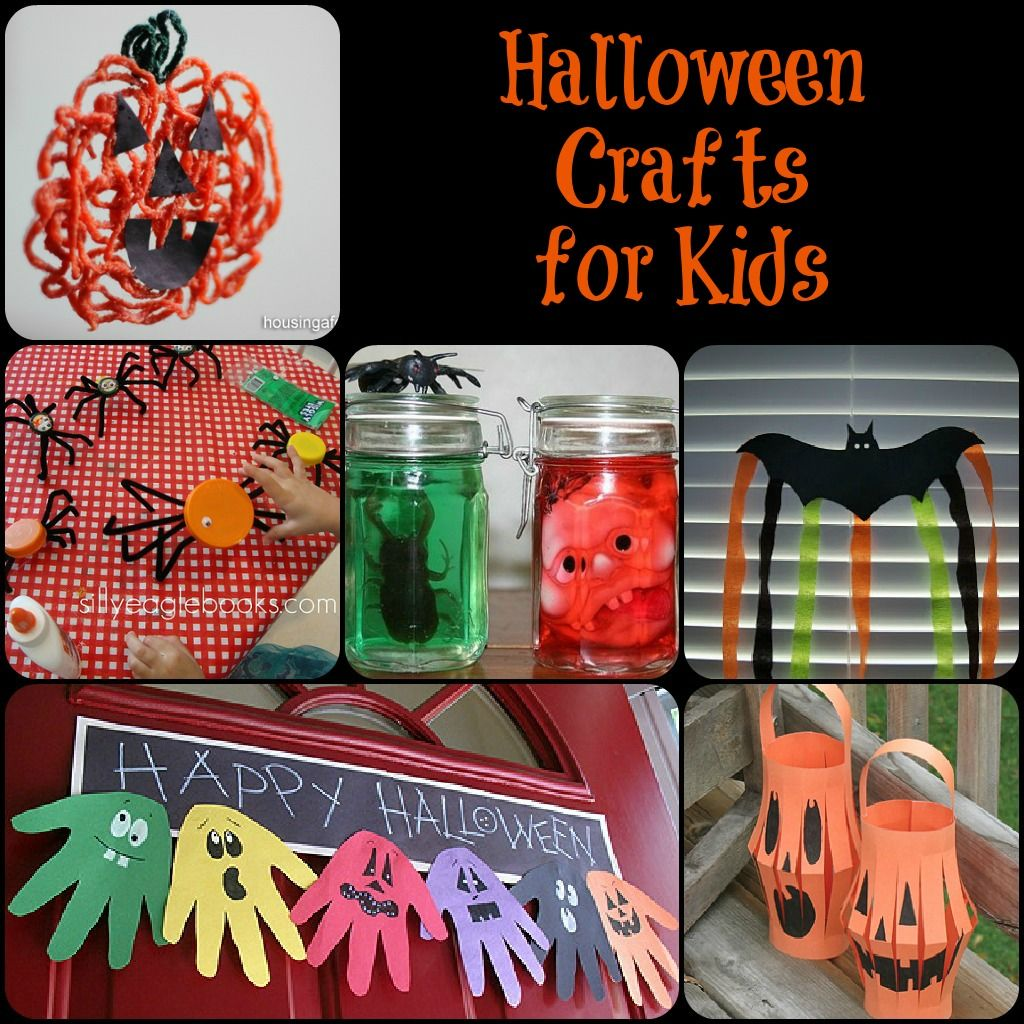 16++ School age halloween crafts information