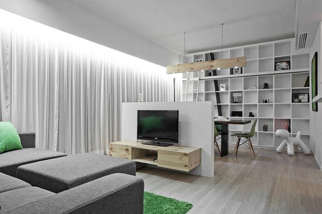 Ideas Para Pequeñas Espacio Habitable Http Www Decoracion2014 Com Diseno De Interiores Idea Small Living Rooms Small Space Living Apartment Interior Design