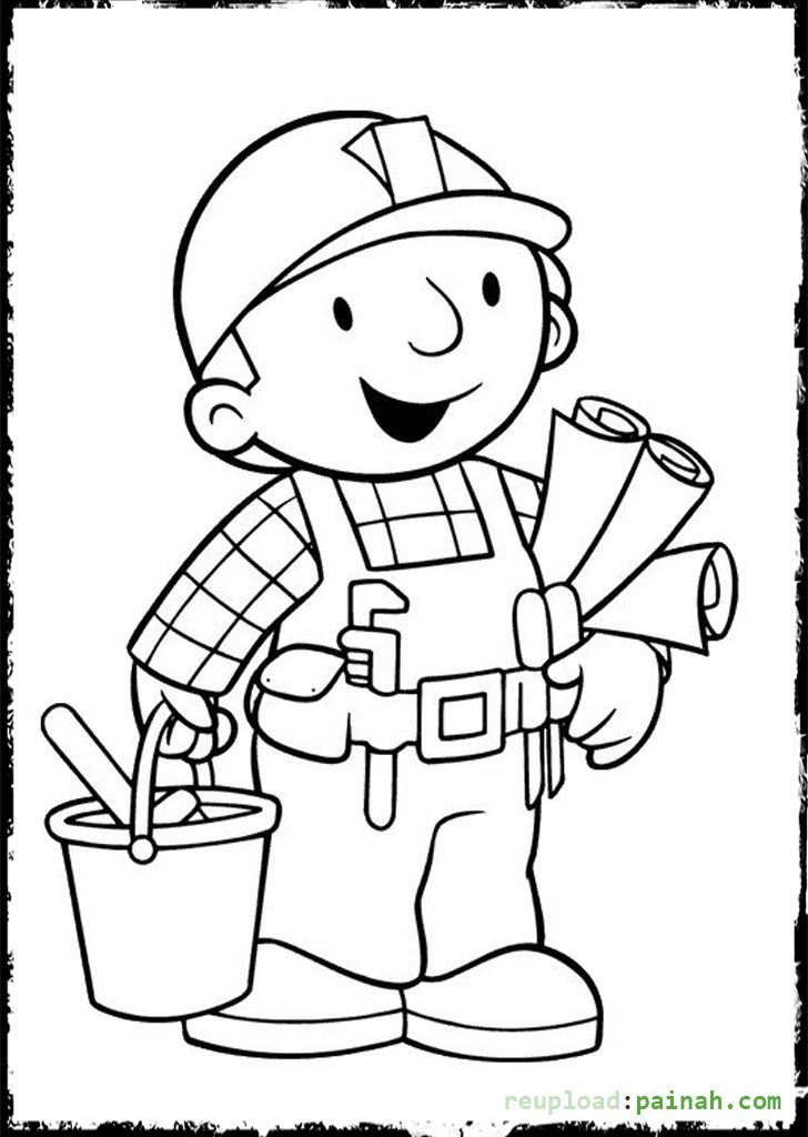 bob coloring pages - photo#12