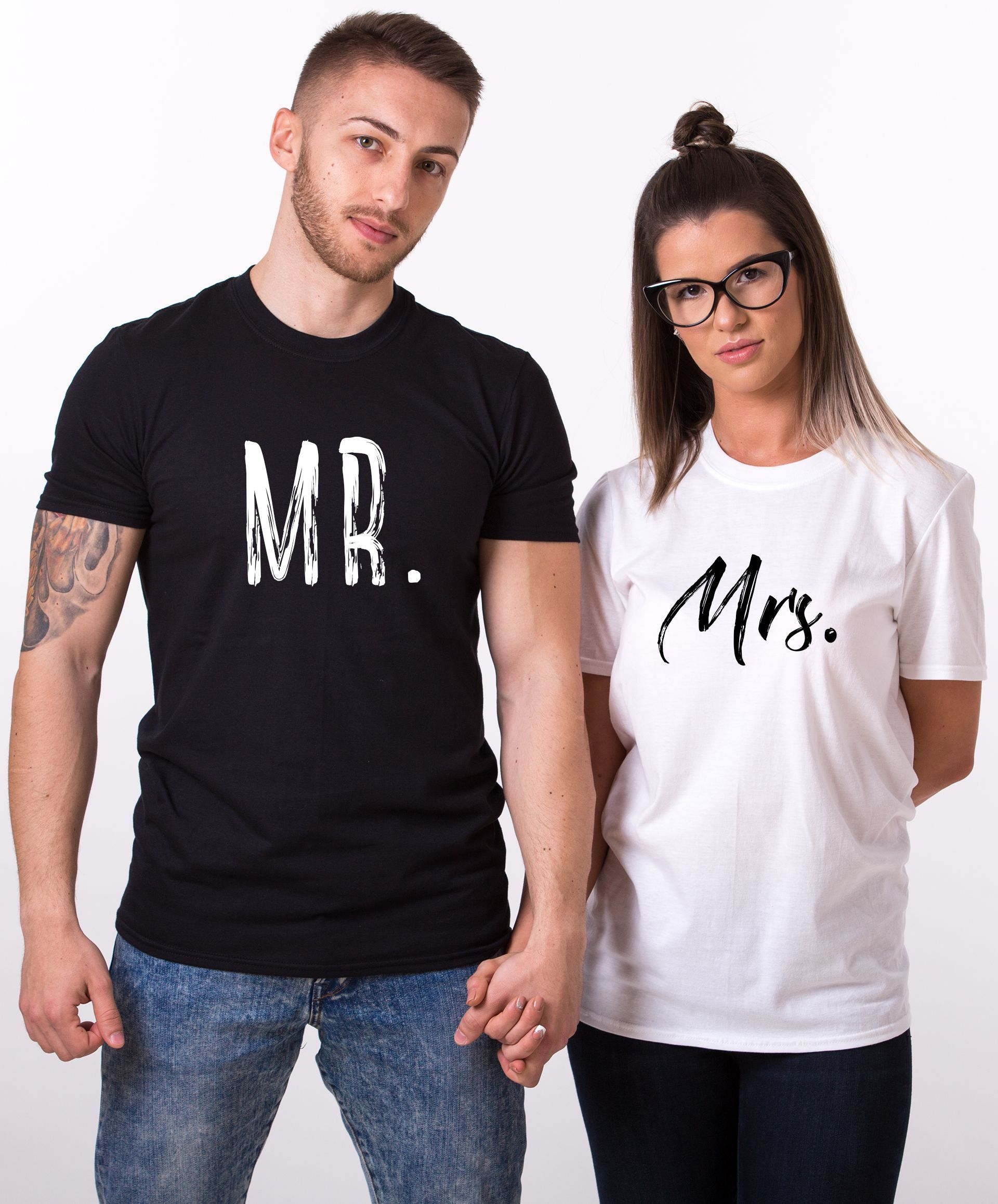 Mr. Mrs. Shirts, Matching Couples Shirts. Life is amazing shared with your special someone and a trendy set of matching shirts! Get yours now!