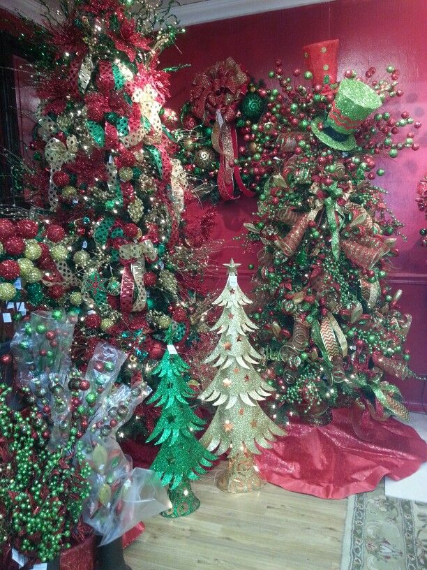 Christmas Wonder Land Ellis Pottery Bossier City Louisiana