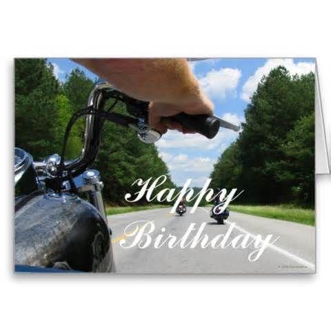 Happy Birthday Motorcycle Happy Birthday Motorcycle Happy Birthday Cards Happy Birthday Biker