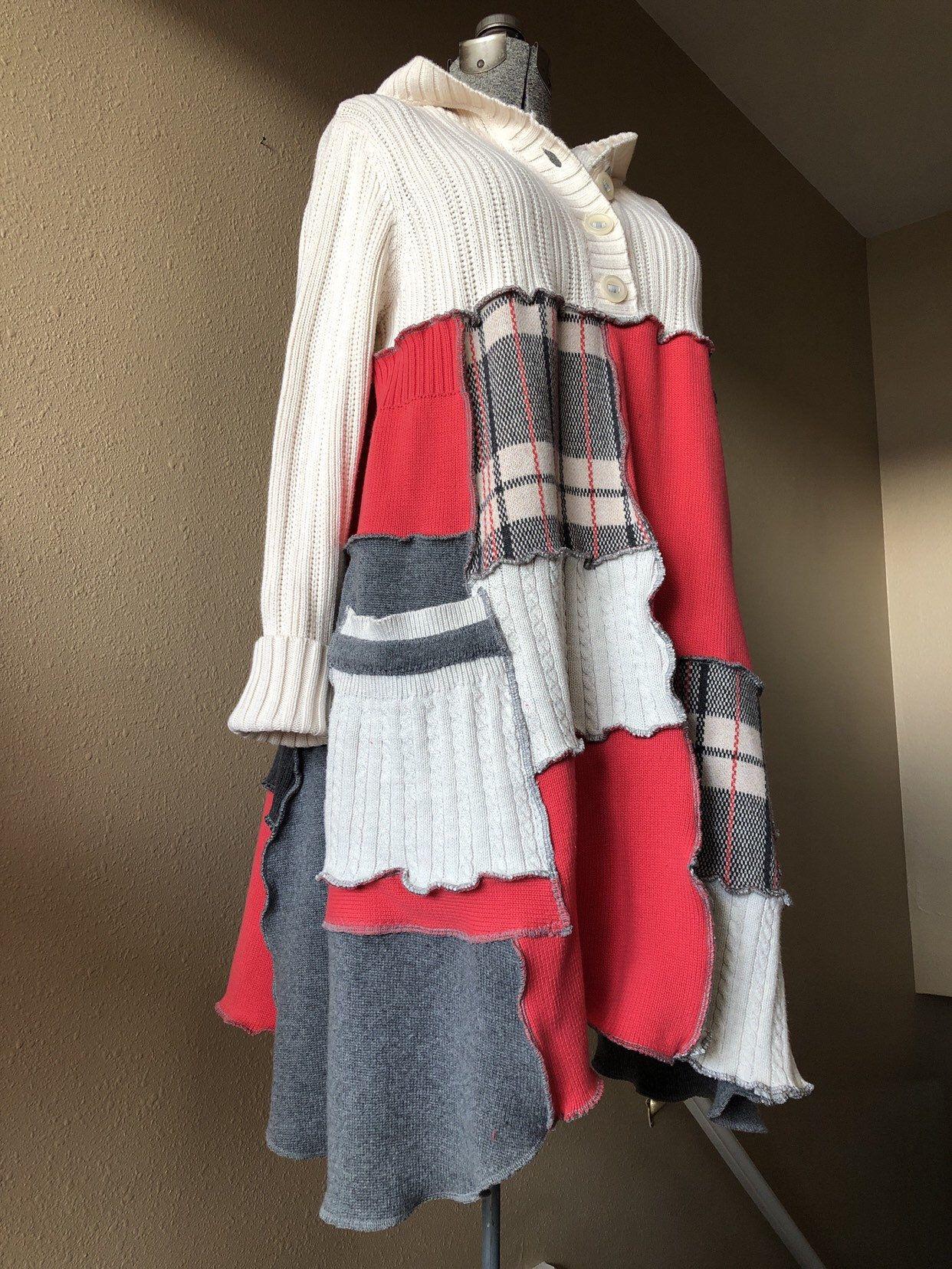 patchwork hoodie dress