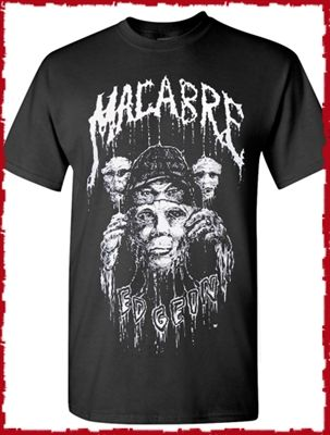 71507e449 Macabre Ed Gein Dead Skin Mask Shirt | Clothes | Skin mask, Shirts ...