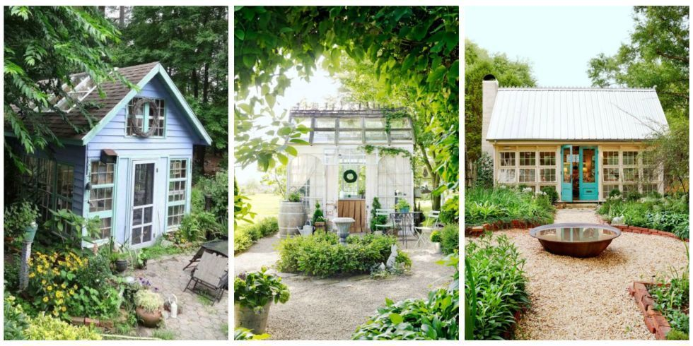 14 Whimsical Garden Shed Designs - Storage Shed Plans  Pictures