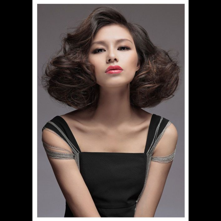 Hair By Frankie Chan Toni Guy Bejing Midlength Hairstyle