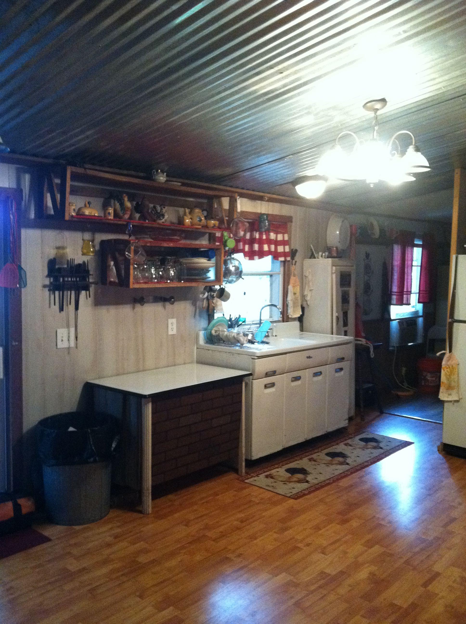KITCHEN IN MOBIL HOME REMODEL