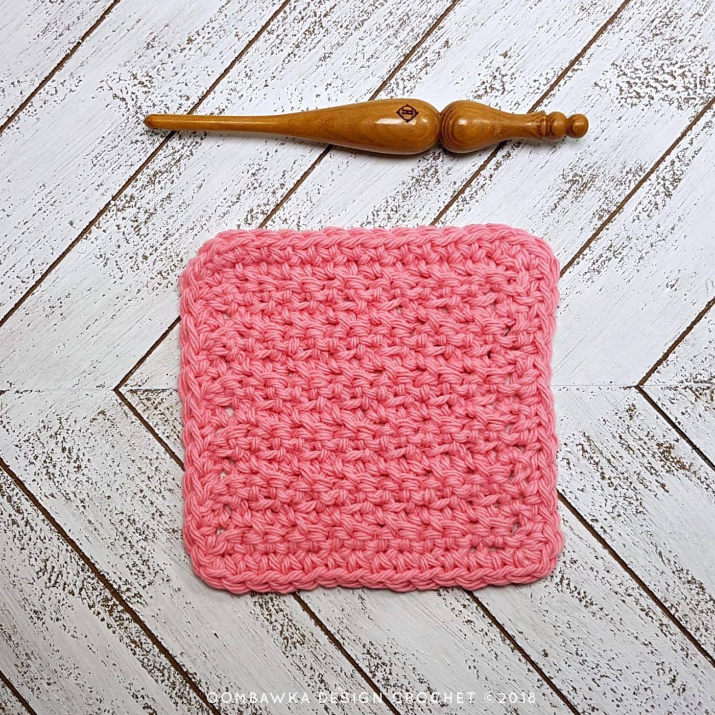 christmas tree dishcloth knitting pattern