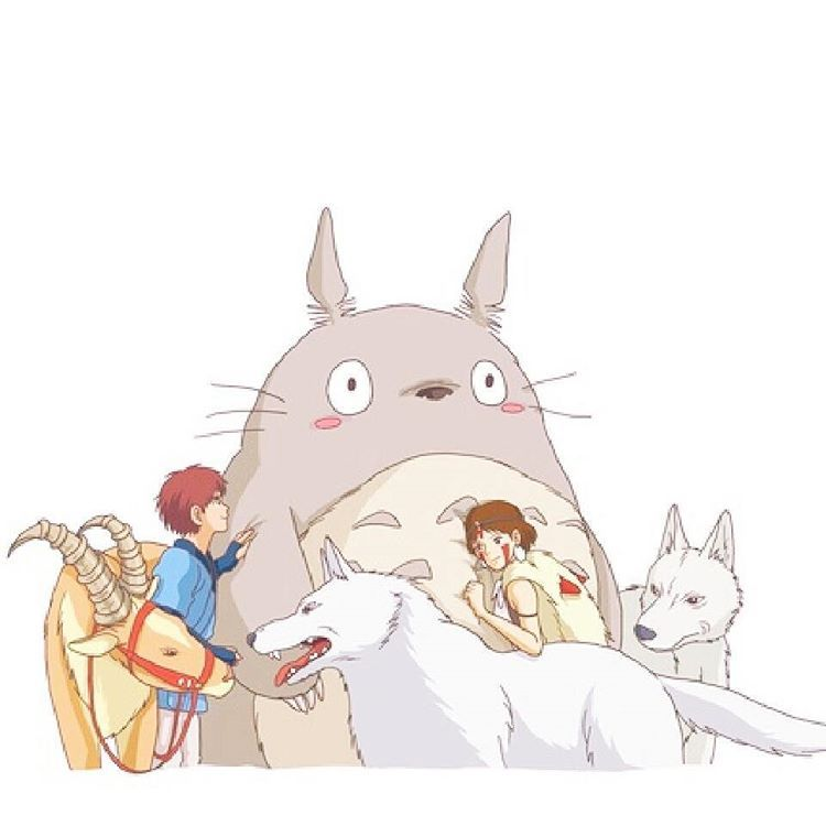 Missed You Guys What Is Your Favorite Ghibli Couple Hayaomiyazaki ジブリ 動物