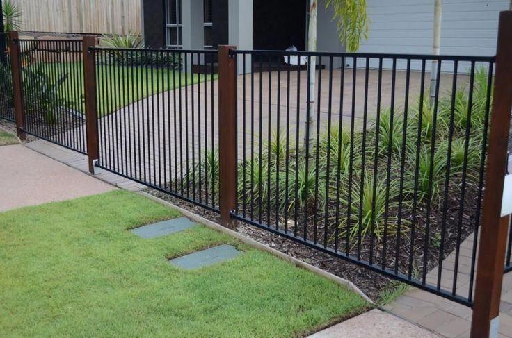 Schauen Sie Sich Diesen Coolen Drahtzaun An Was Fur Ein Genialer Stil Und Design Wirefence In 2020 Moderner Zaun Vorgarten Zaun Ideen Zaun