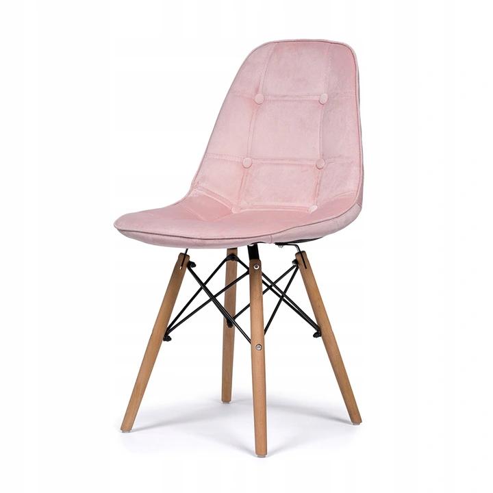Krzeslo Tapicerowane Pikowane Skandynawskie Welur Home Decor Decor Chair
