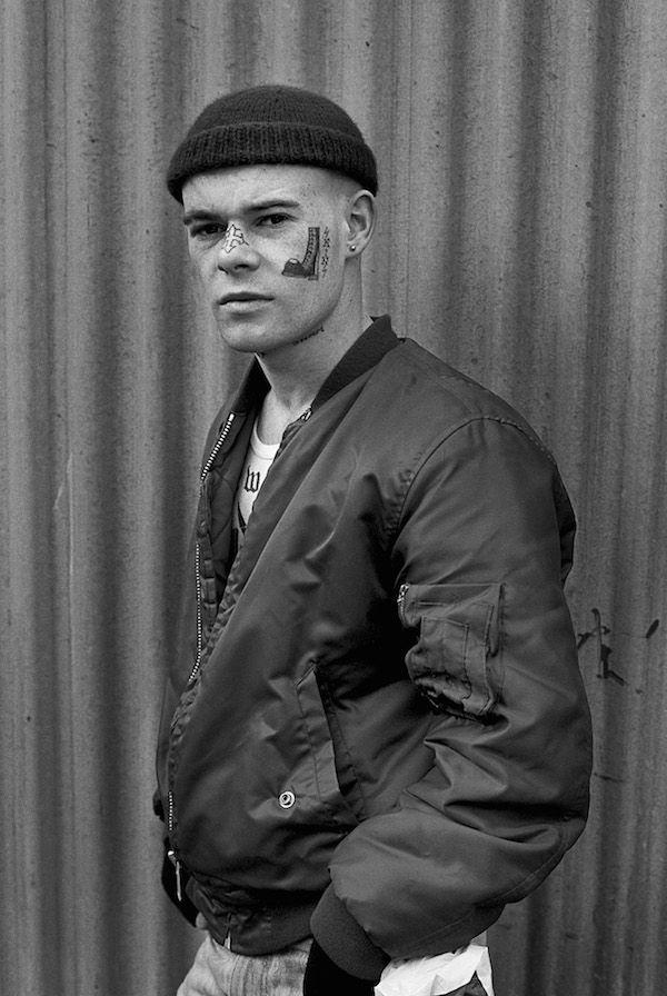Derek Ridgers - London's skinheads 09