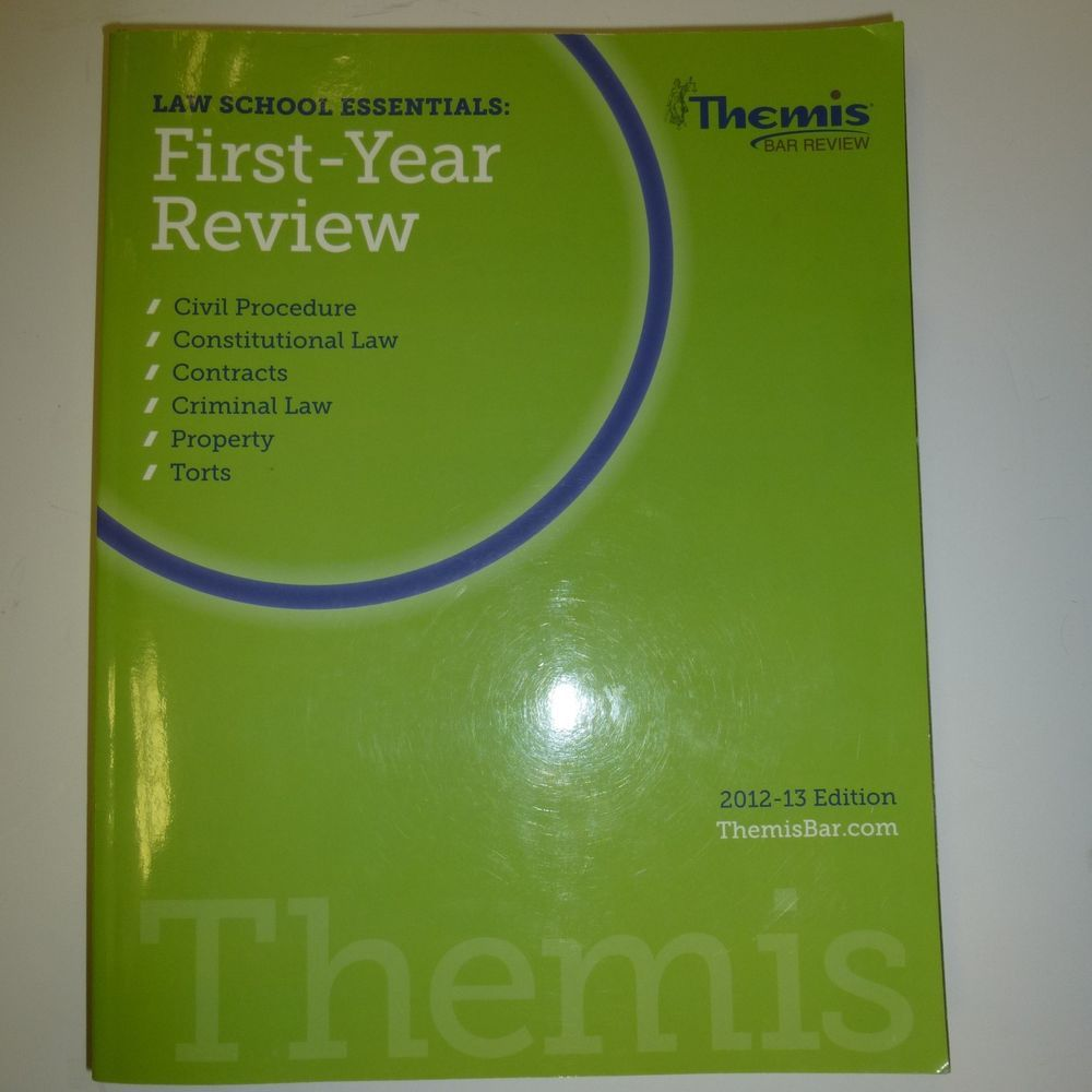 Themis Bar Review First-Year Review Civ Pro
