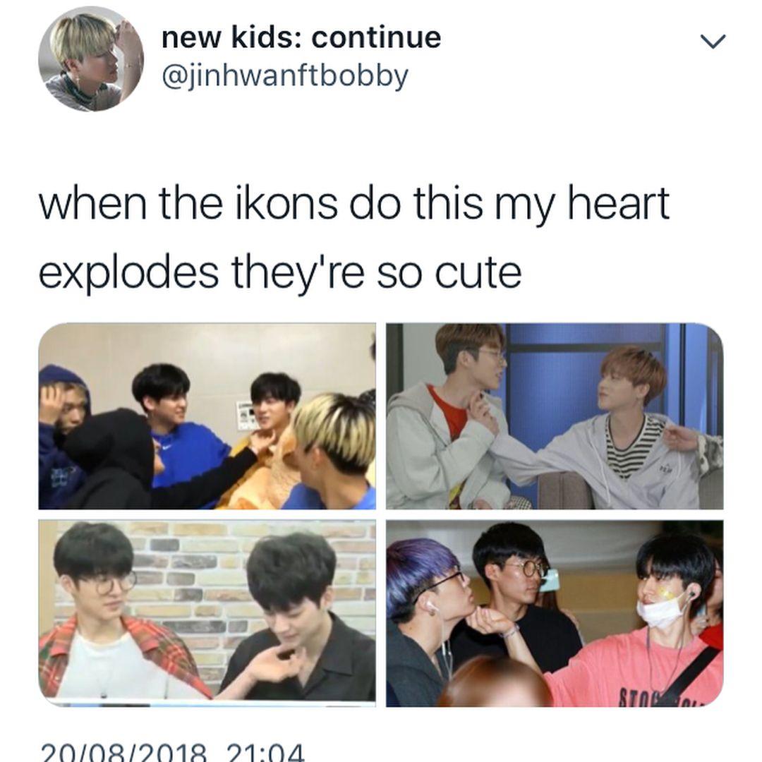 My Clingy Boys The Ikons That S Adorable Ikon Kpop Ikon Funny Kpop Memes