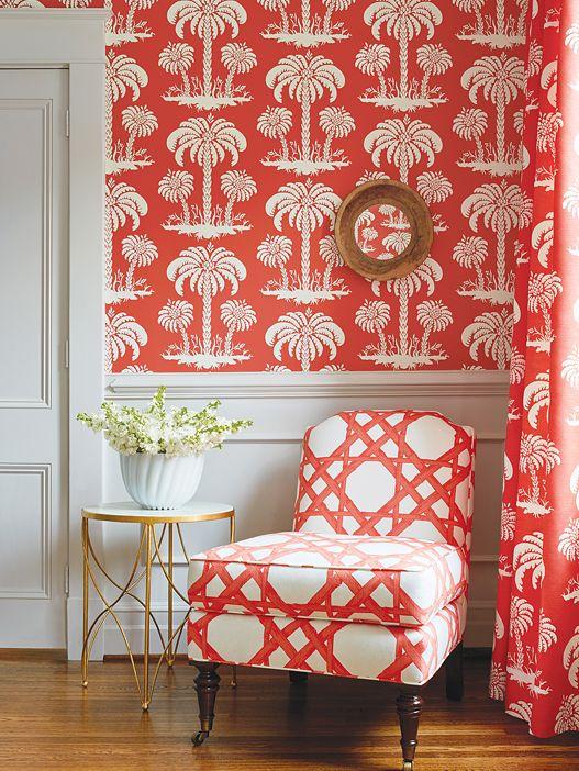 Thibaut Summer House - Palm Island #interior #design   Decor ideas ...