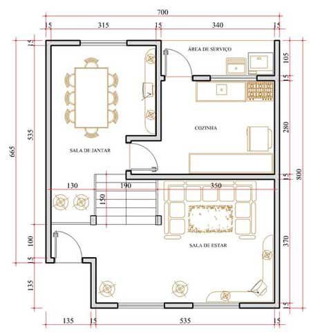 Projetos de casas gratis