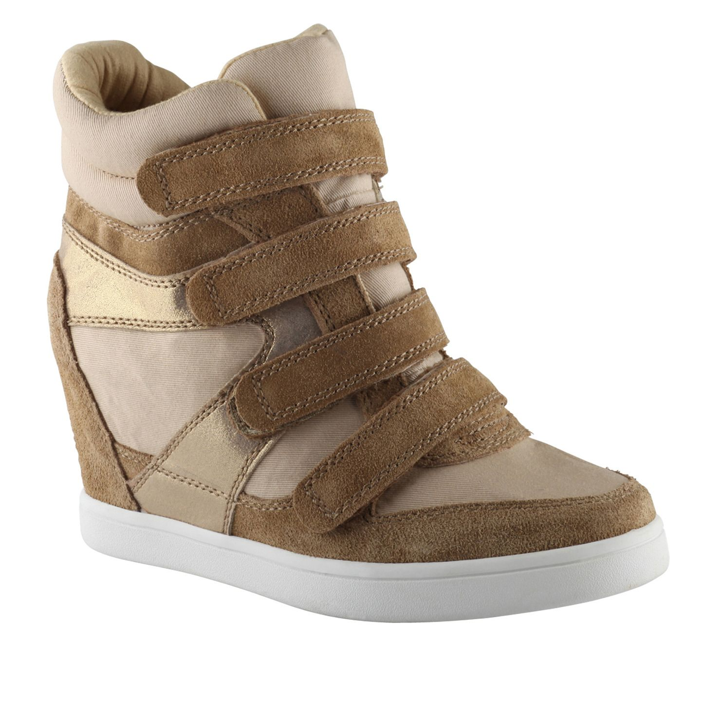 SNEAKER+WEDGE+FROM+ALDO+WITH+A+HINT+OF+METALLIC+GOLD