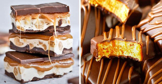 19 Homemade Candy Bars That Are Even Better Than The Real Deal