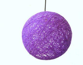 Purple sphere modern pendant lamp globe pendant light lighting purple sphere modern pendant lamp globe pendant light lighting fixture ball shadow aloadofball Choice Image