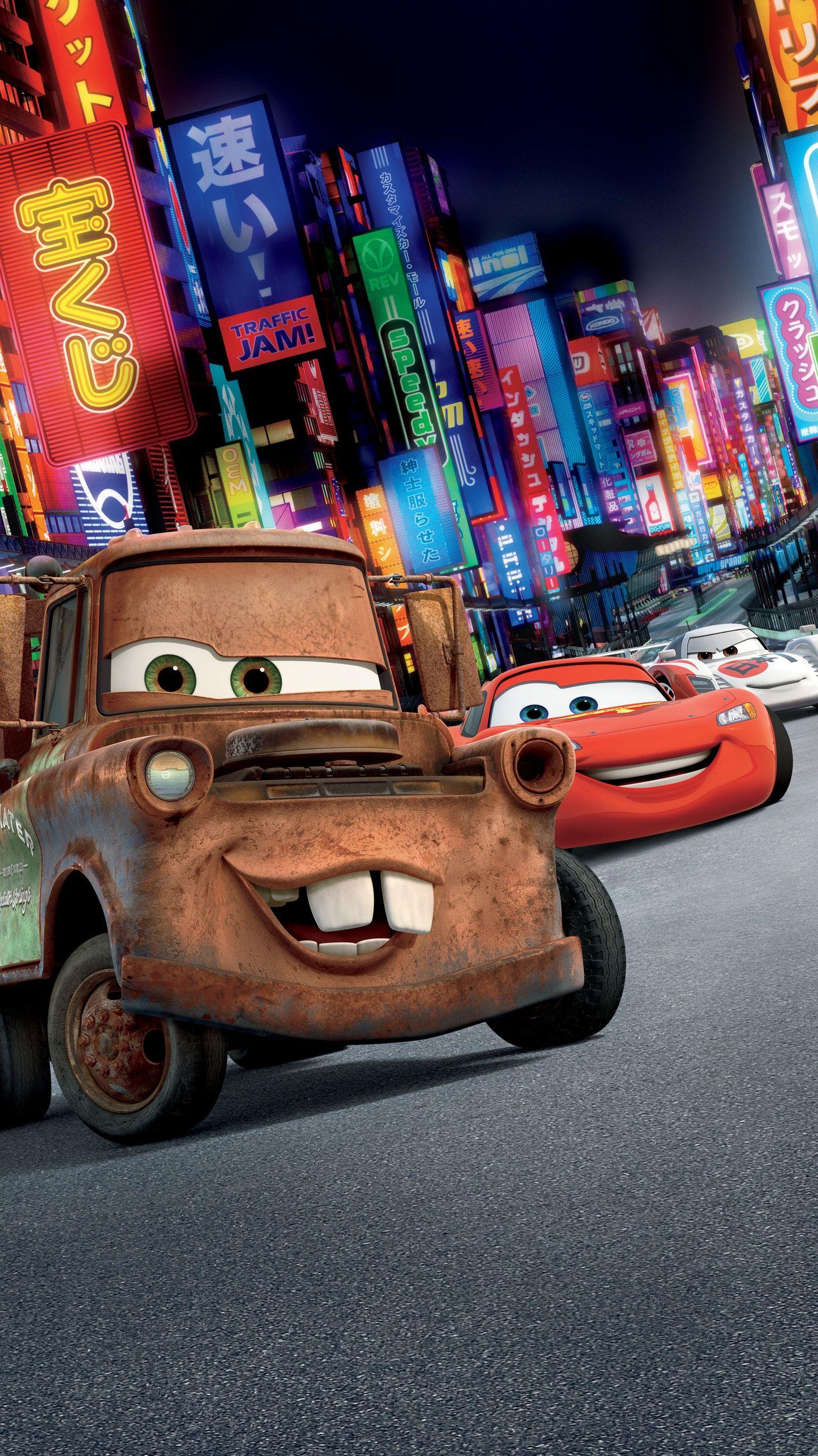Cars 2 (2011) Phone Wallpaper Películas de aventuras