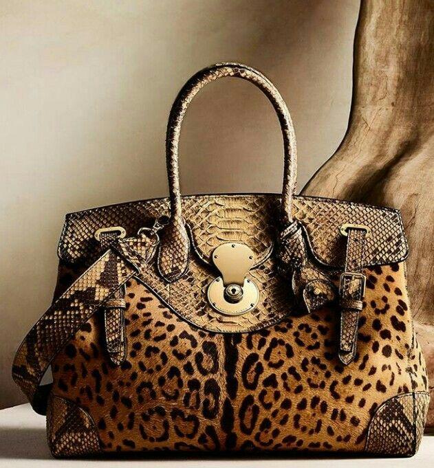 beautiful animal print handbag  .   beautiful animal print handbag   Ralph  Lauren Bags ... 2bc9890a1979f