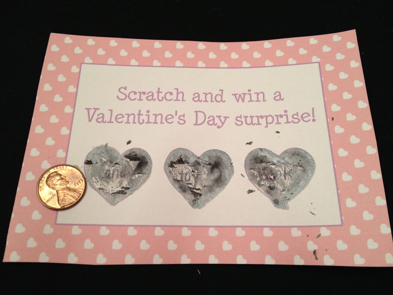 DIY Scratch Off Valentines for Kids and Adults  Valentines diy