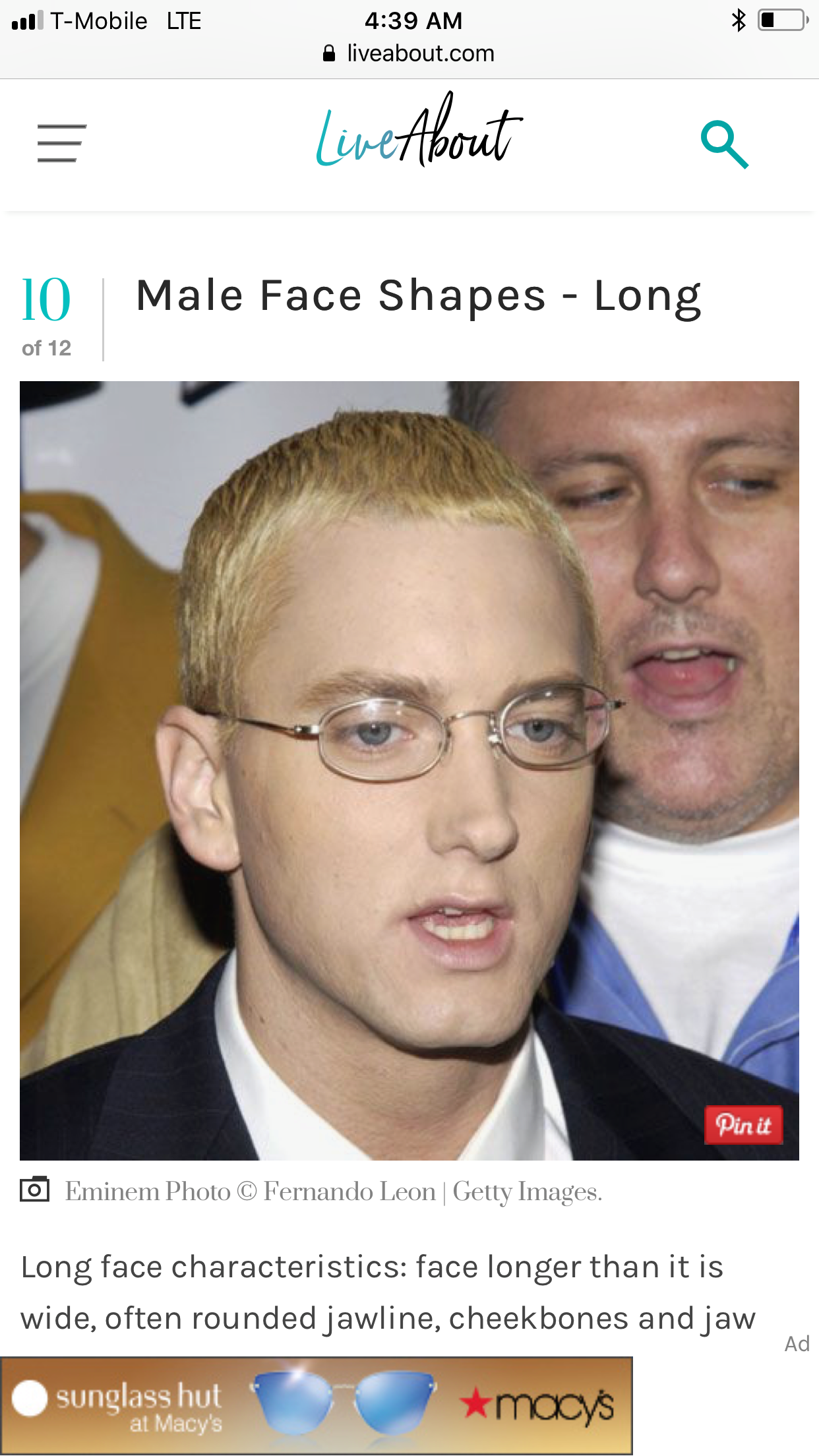 Pin By Alain Constant On Rrr Eminem Photos Male Face Jawline