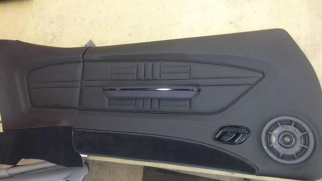 71 Chevelle For Guy Fieri Custom Door Panel Custom Stitch Pattern Fesler Chevelle Automotive Upholstery Custom Car Interior
