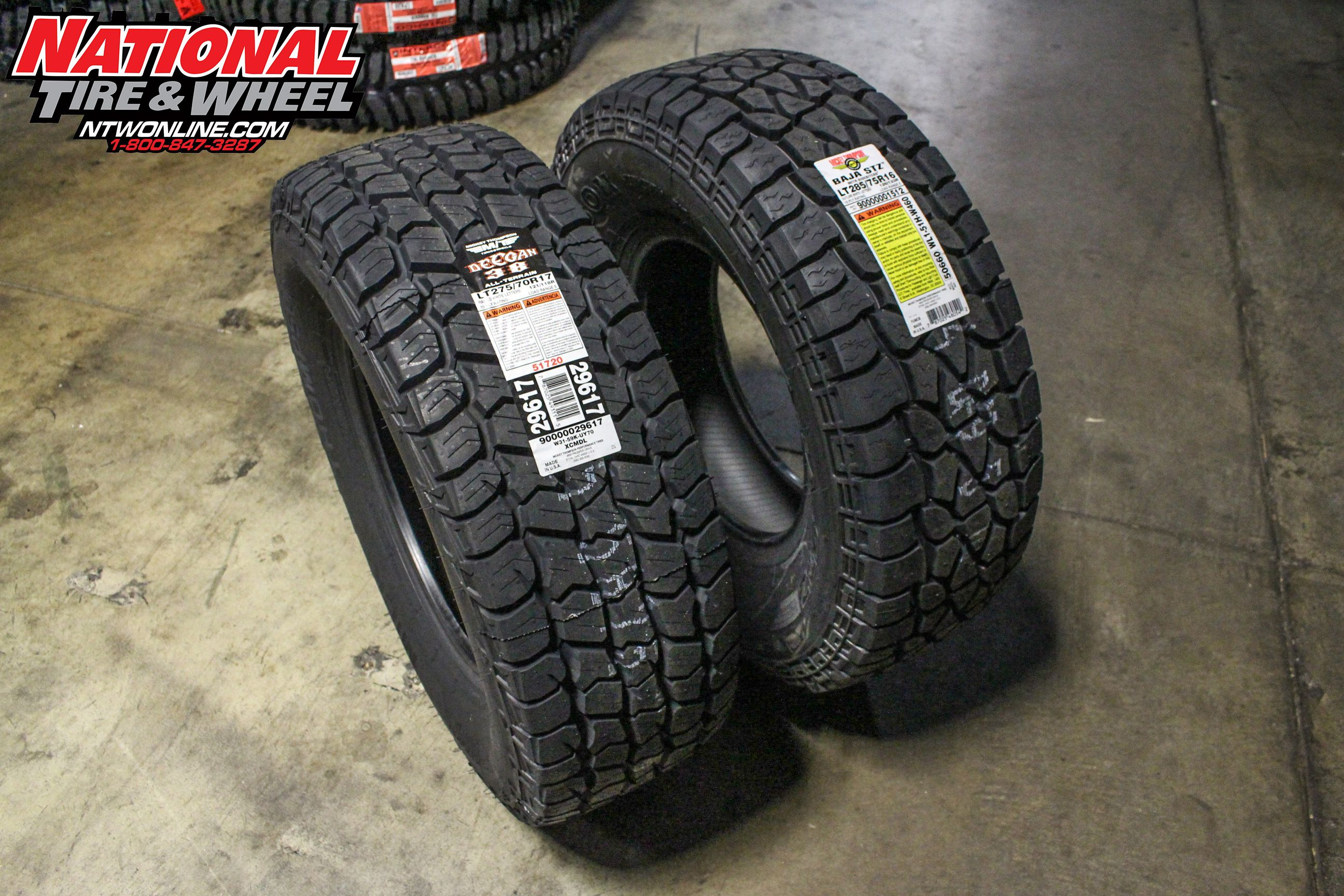 4ca2264c255ff The All New Mickey Thompson Deegan A/T side by side comparison next ...