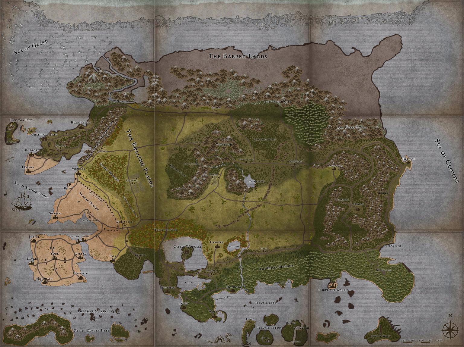 D&D Assets #4 (75Mb) - Elder Scrolls D&D, Donjon, Inkarnate, World