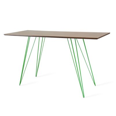 Tronk Design Williams Writing Desk Finish: Green