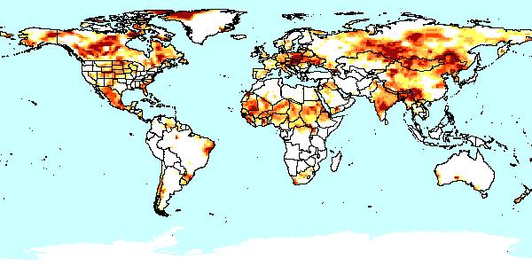 world drought map map drought - Google Search | Revelation | Pinterest
