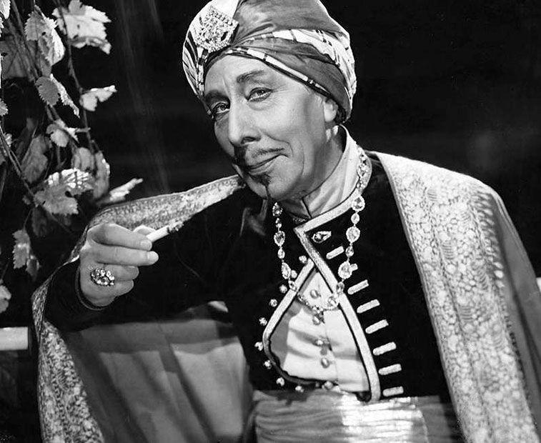 "3rd Academy Awards - November 5, 1930. George Arliss (1868-1946), nominated for the Academy Award for Best Actor for ""The Green Goddess"" (pictured), won for ""Disraeli"""