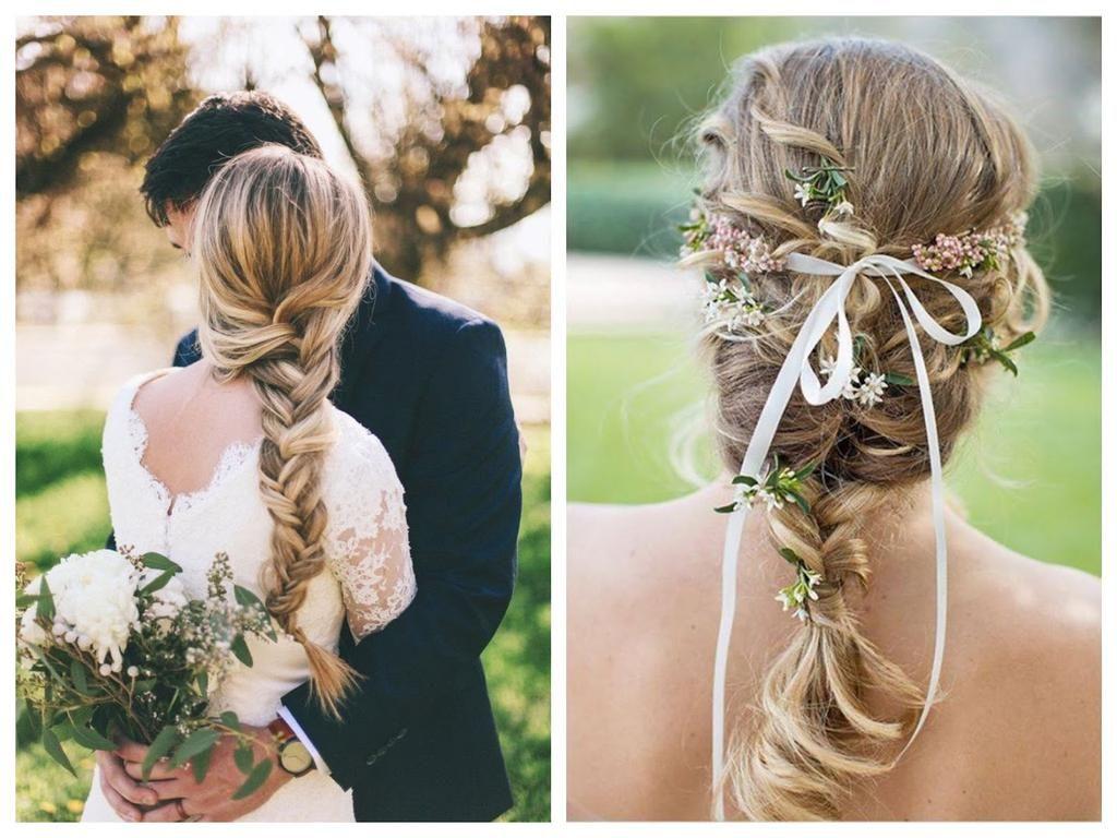 Peinados para novias informales