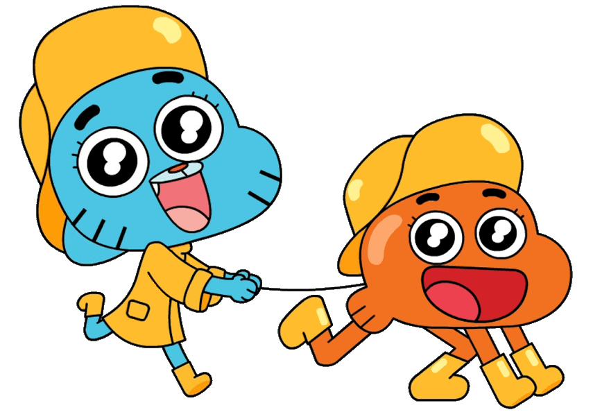 The Amazing World Of Gumball Fan Art Cutie Pets Vector