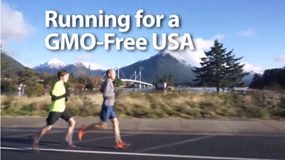 Running for a GMO-Free USA. More Here: http://www.broadwayworld.com/bwwfitness/article/Father-and-Son-Team-Run-Across-America-for-GMO-Free-Living-20131230