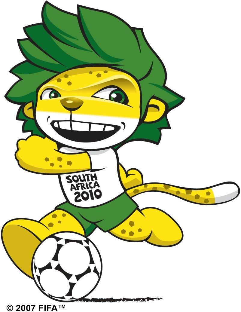 Zakumi Fifa World Cup 2010 Mascot