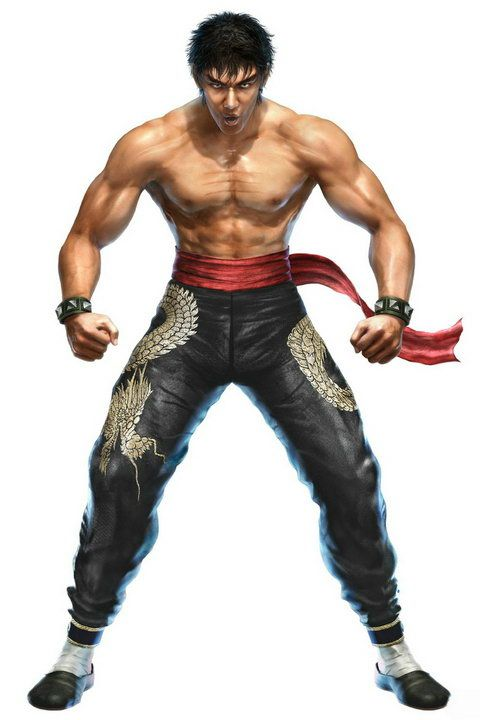 Tekken Male Characters Google Search Marshall Law Street