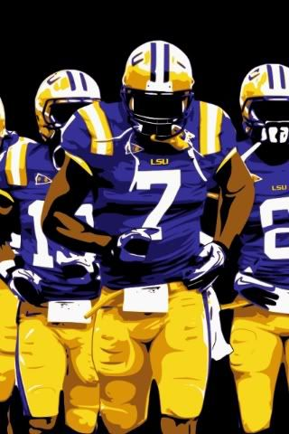 iphone sized LSU wallpaper