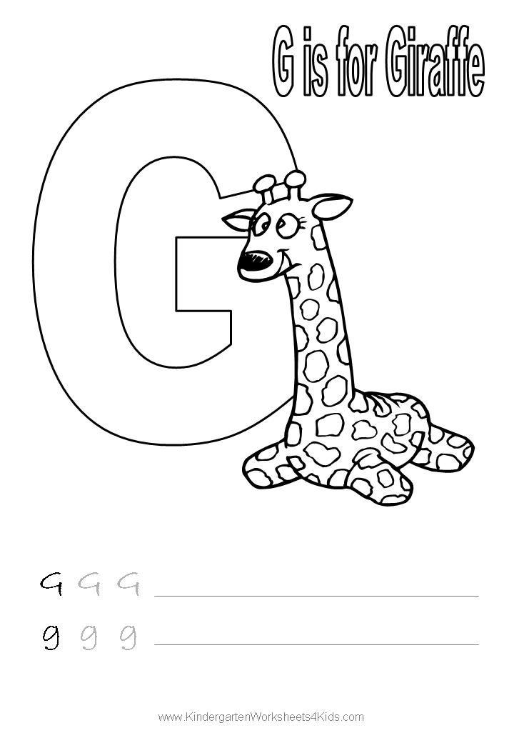 handwriting worksheet letter g alphabet coloring pages pinterest handwriting worksheets. Black Bedroom Furniture Sets. Home Design Ideas