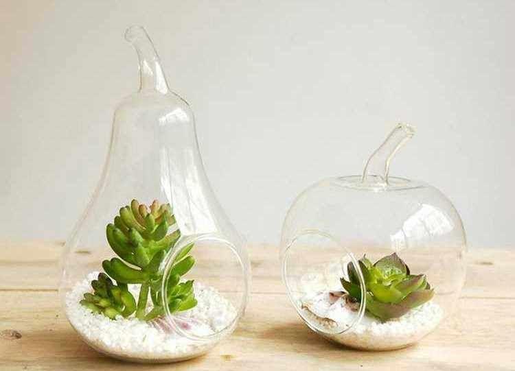 decorar jarrones de cristal - Jarrones De Cristal