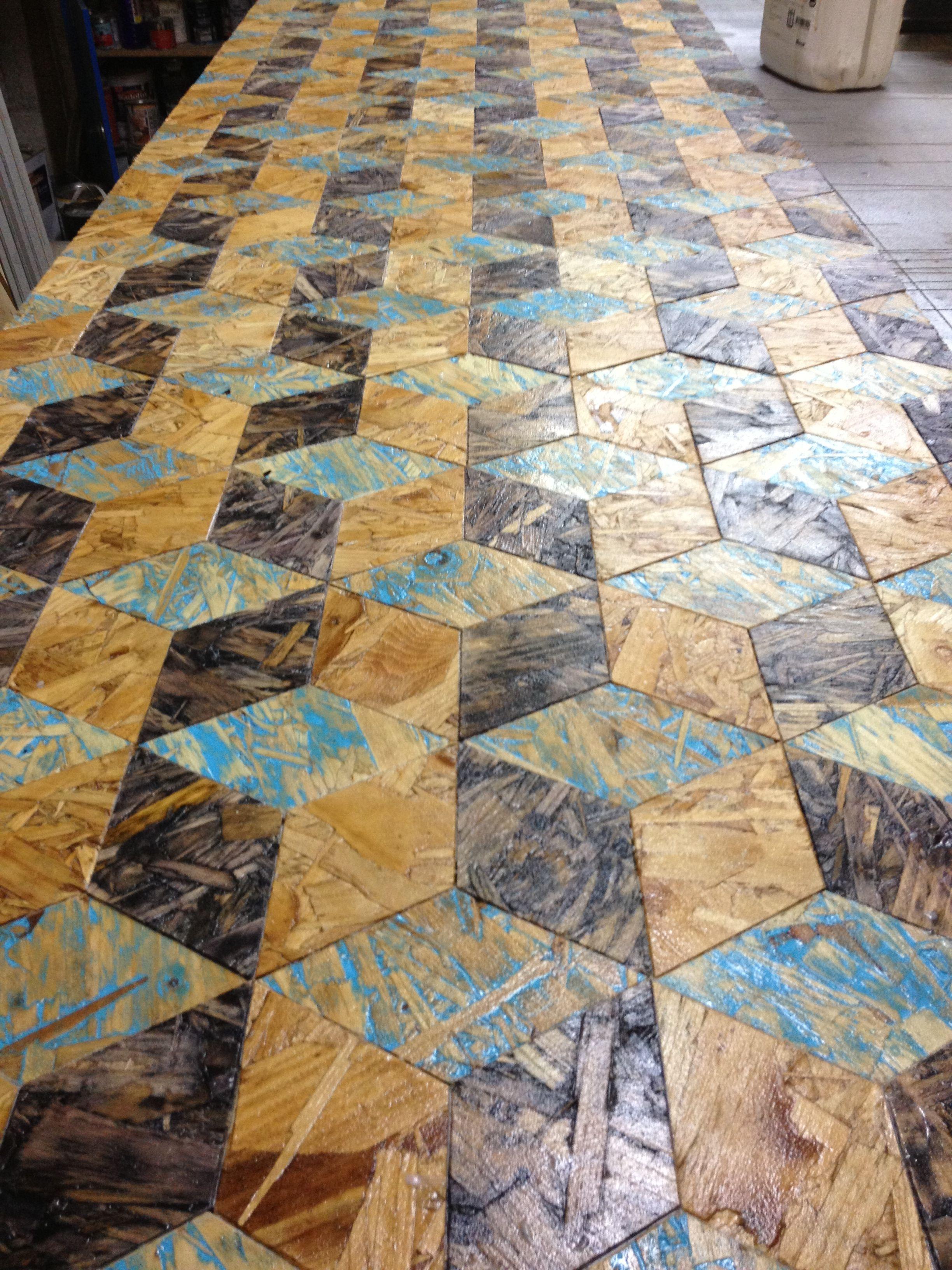 Osb Tablero De Virutas Orientadas Madera Wood Suelos Pinterest