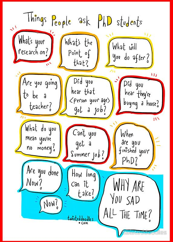 Things people say to phd students greeting card by twisteddoodles things people say to phd students greeting cards postcards by twisteddoodles redbubble m4hsunfo