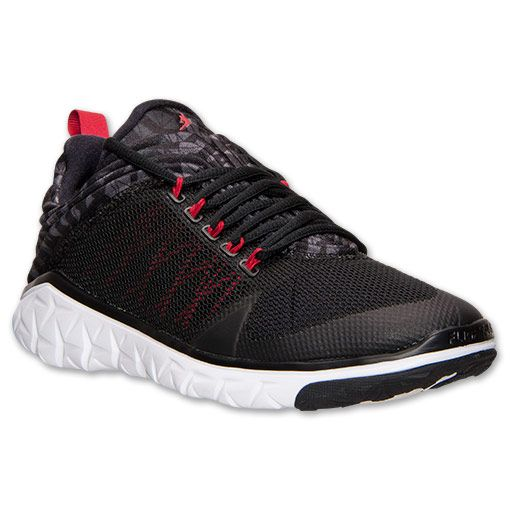 sale retailer 6163f 50fb7 Men s Jordan Flight Flex Trainer Training Shoes   Finish Line   Black Gym  Red Anthracite Dark Grey
