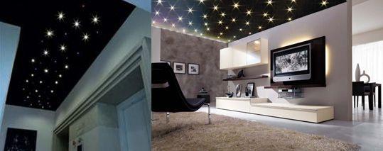italian #light #design #led cielo stellato led - sistema di ... - Luci Soffitto Stellato