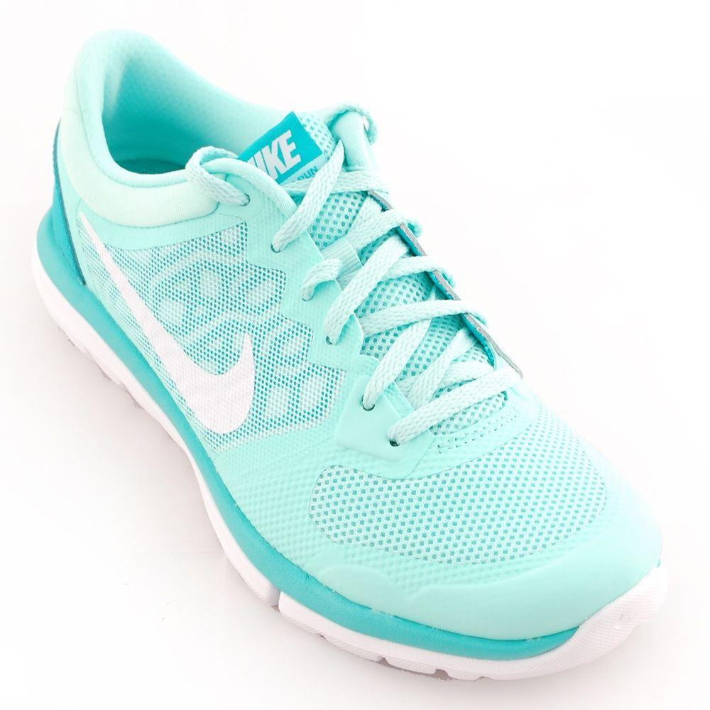 Women Shoes - Nike Flex 2015 Running Shoes Blue/White