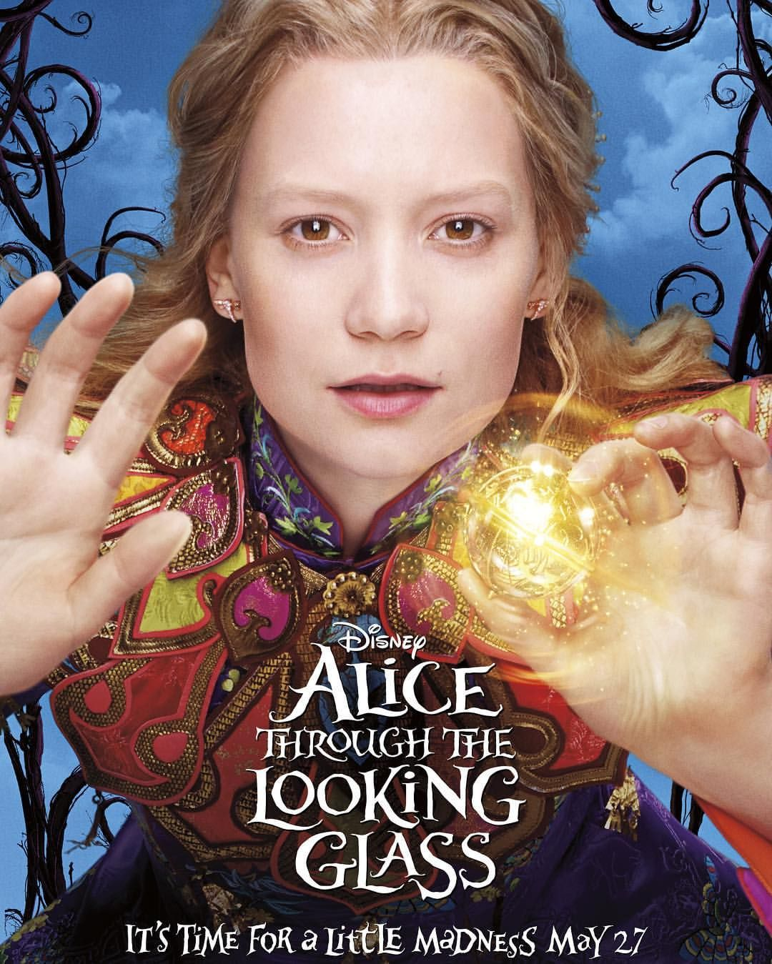 #DaylightSavings drives everyone a little bonkers.  Turn back the hands of time and go #ThroughTheLookingGlass May 27.